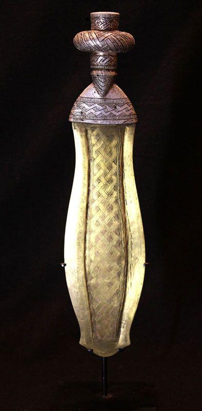 Kuba Ikula Copper blade - 36,50 cm handle: wood, alu ...