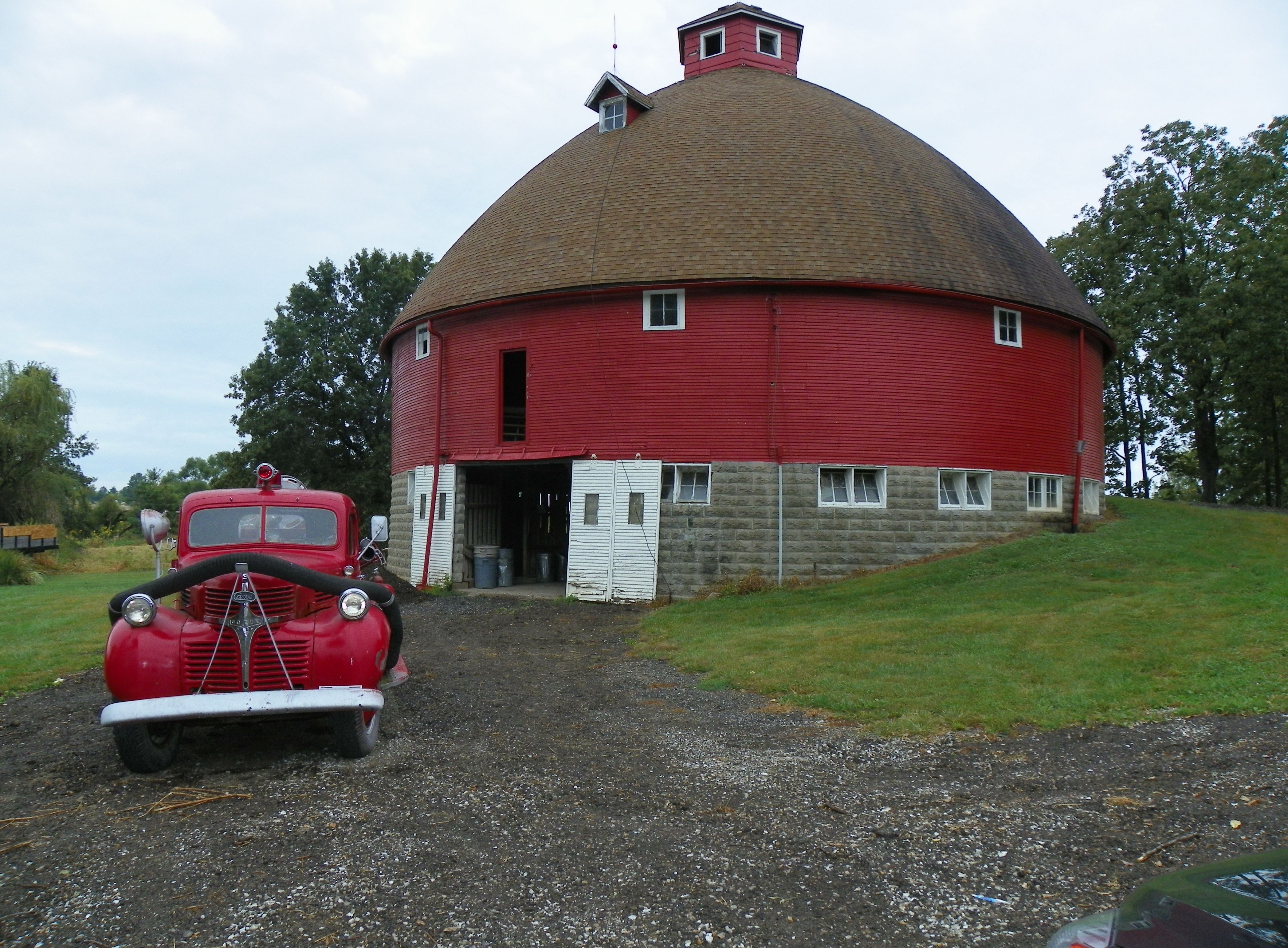 Round Barn Kirksville Missouri Here S A Pice Of My