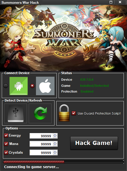 summoners war hack 2018 no verification