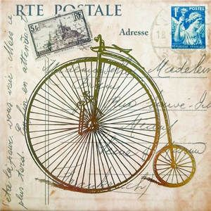 Велосипед 5155\a260\stg 20*20, декор велосипед 5155\a260\stg 20*20