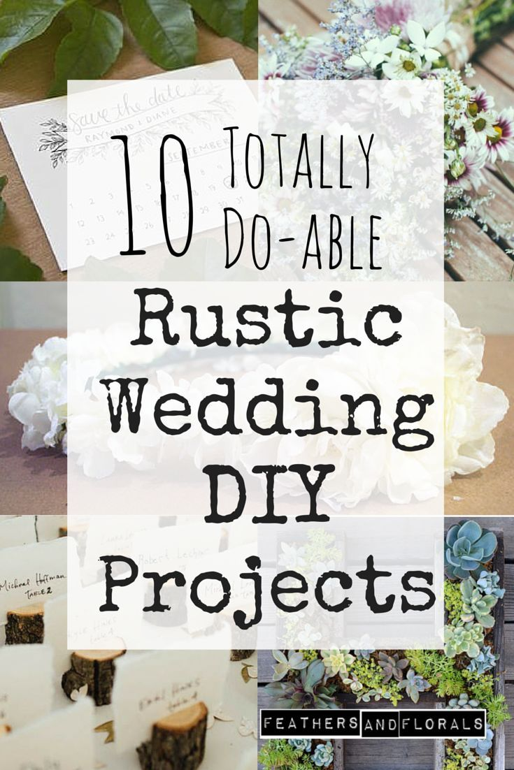 10 Simple Inexpensive Rustic Wedding DIYs