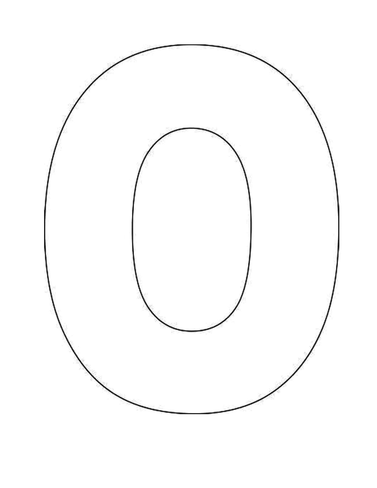 Letter O Worksheet For Alphabet Learning