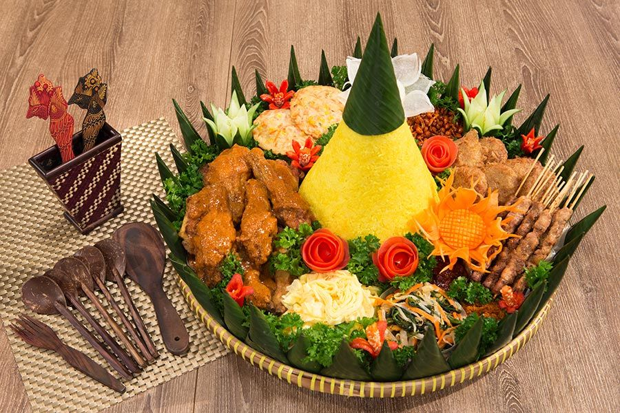 Indochili Indonesian Restaurant Singapore Halal Certified Food Garnishes Food Indonesian Food