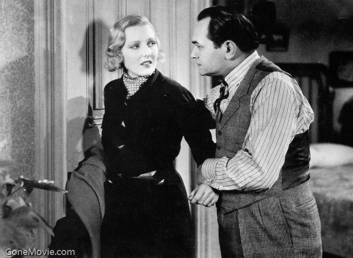 The Whole Town's Talking 1935 - Jean Arthur and Edward G. Robinson. A meek  milquetoast of a clerk is mistaken for… | Edward g robinson, Jean arthur,  Donald o'connor