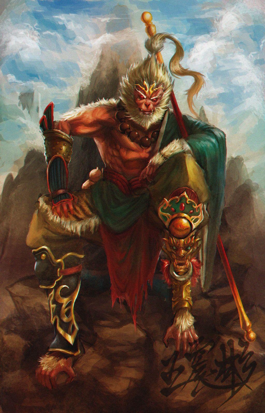 Sun Wukong(Monkey King) VS. Marvel Gods - Battles - Comic ...