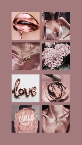 rose gold aesthetic on Tumblr
