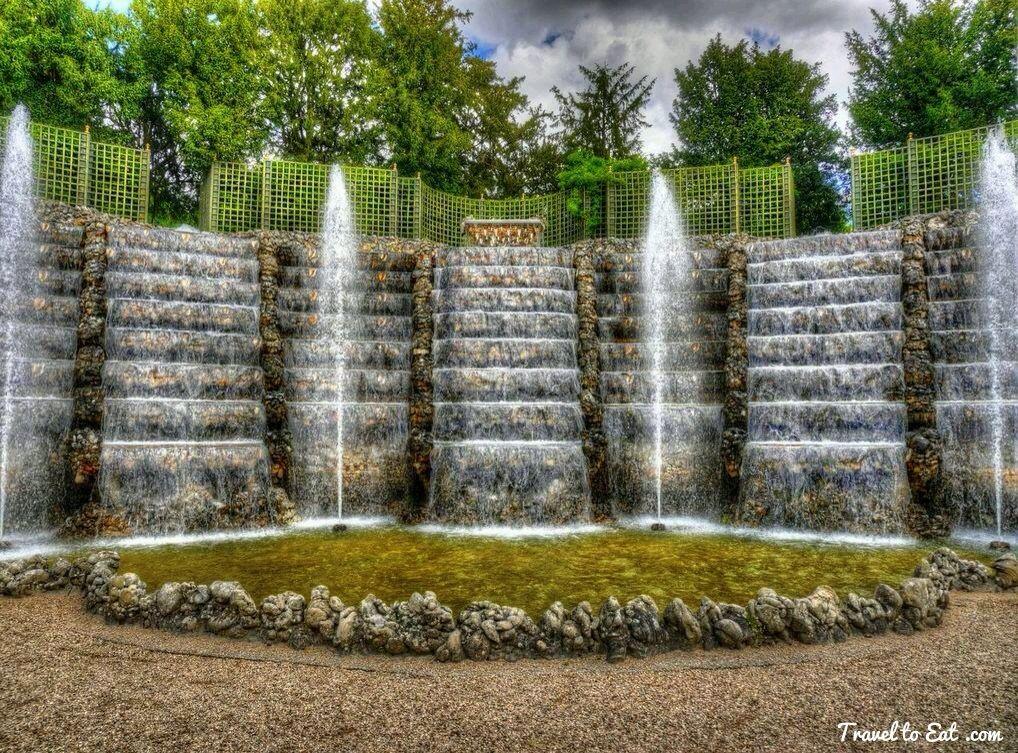 Bosquet de la salle de bal parc de versailles travel to for Garden design versailles