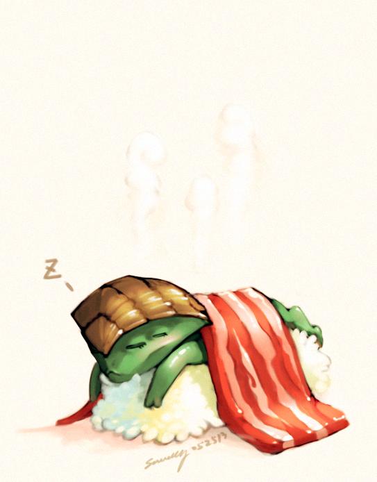 Sushi Javik by *StellarStateLogic on deviantART