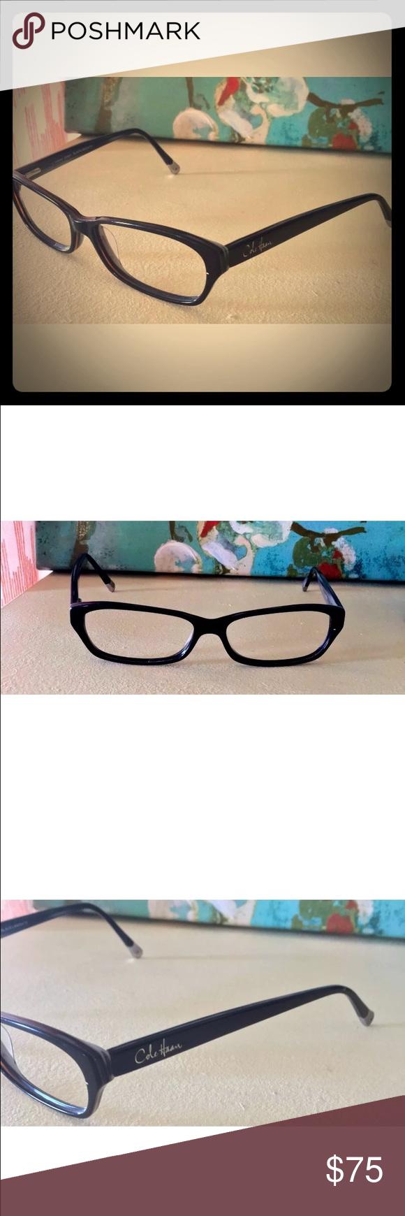 Cole Haan Black Eyeglasses CH941 54-14-140 RARE | Cole haan ...