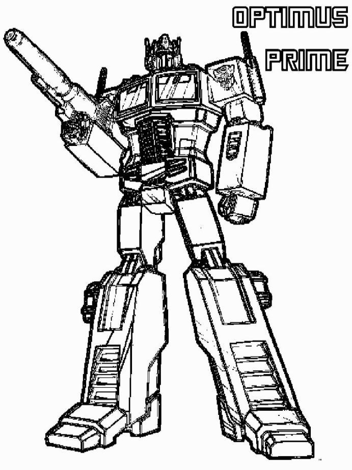 Transformers Coloring Page | Coloring Pages | Pinterest
