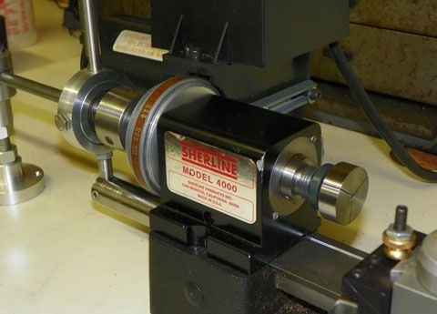 Collet Closer, Lever for Sherline Lathe 4711 (Discontinued