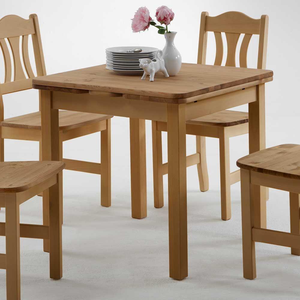 esszimmertisch aus kiefer massivholz quadratisch jetzt bestellen, Esszimmer dekoo