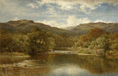 Benjamin Williams Leader - A Welsh River 1907