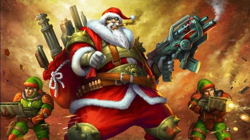 The Pentagon S Christmas War Message Scary Christmas Christmas Art Fantasy Art