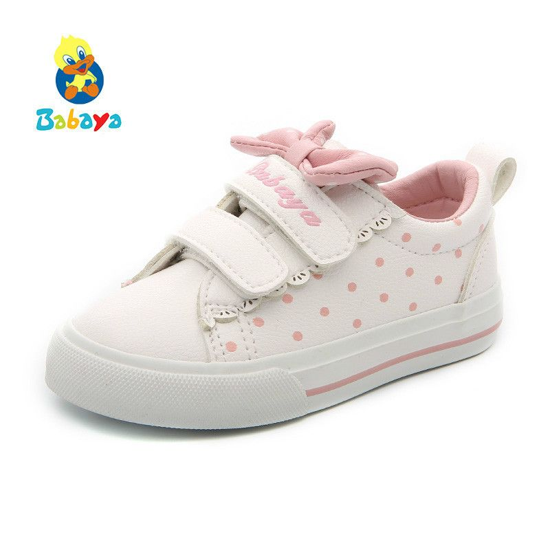 Baby Girl Shoes Children Small White