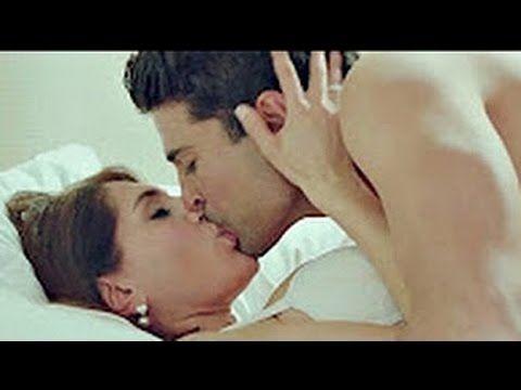 12b0ff6322bd3 Fever 2016 Gauhar Khan Hot Kissing   Forced  ex Scenes with Rajeev Khand.