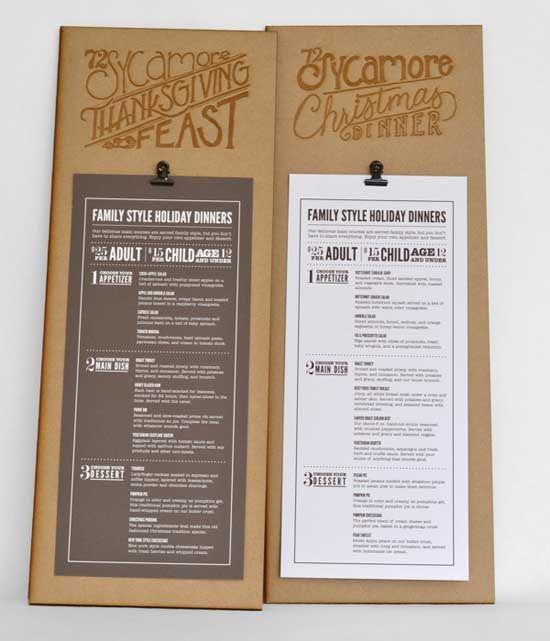 Creative restaurant menu designs (10)   Design for Restaurants ...