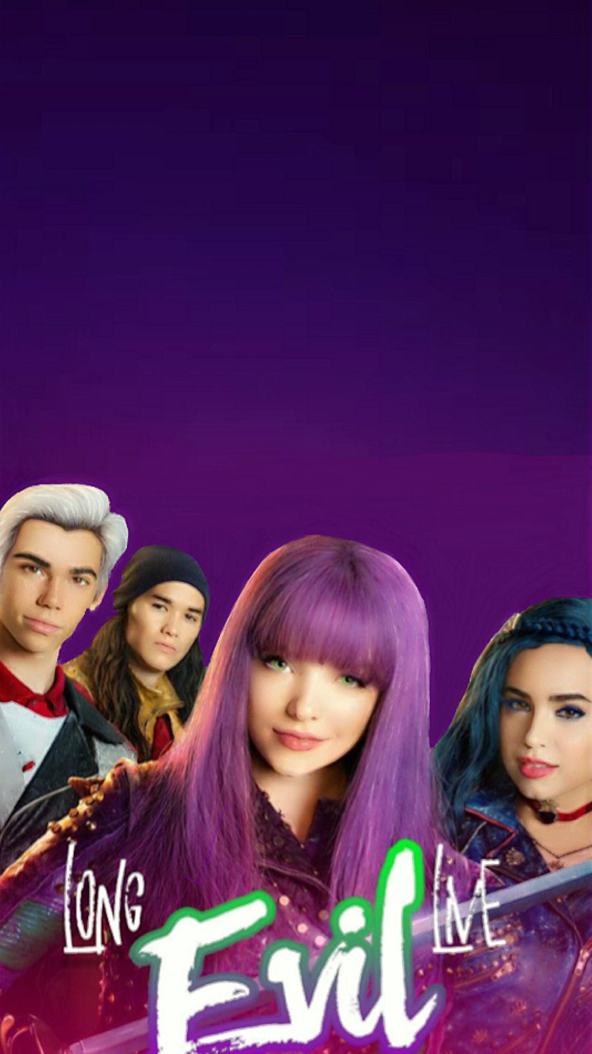 Long Live Havin' Some Fun rather Descendants 2 wallpaper edited by me. ©yayomg (long live evil logo with the cast)