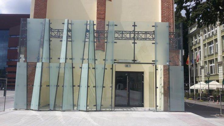 Sesko Theater Museum / facades, windows, aluminum and steel …
