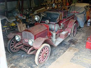 1914 American La France, Model 10, Combination Chemical/Hose, Fire Engine