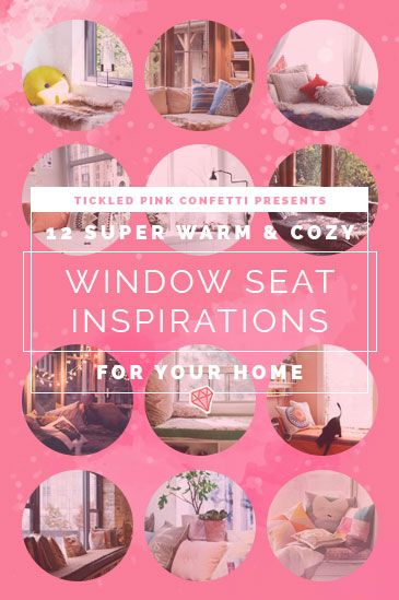 12 Super Warm and Cozy Window Seats Inspirations for Your Home ...