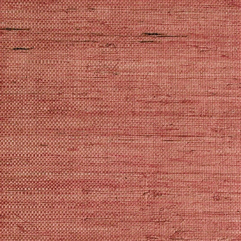 The Wallpaper Company 8 in. x 10 in. Red Grasscloth