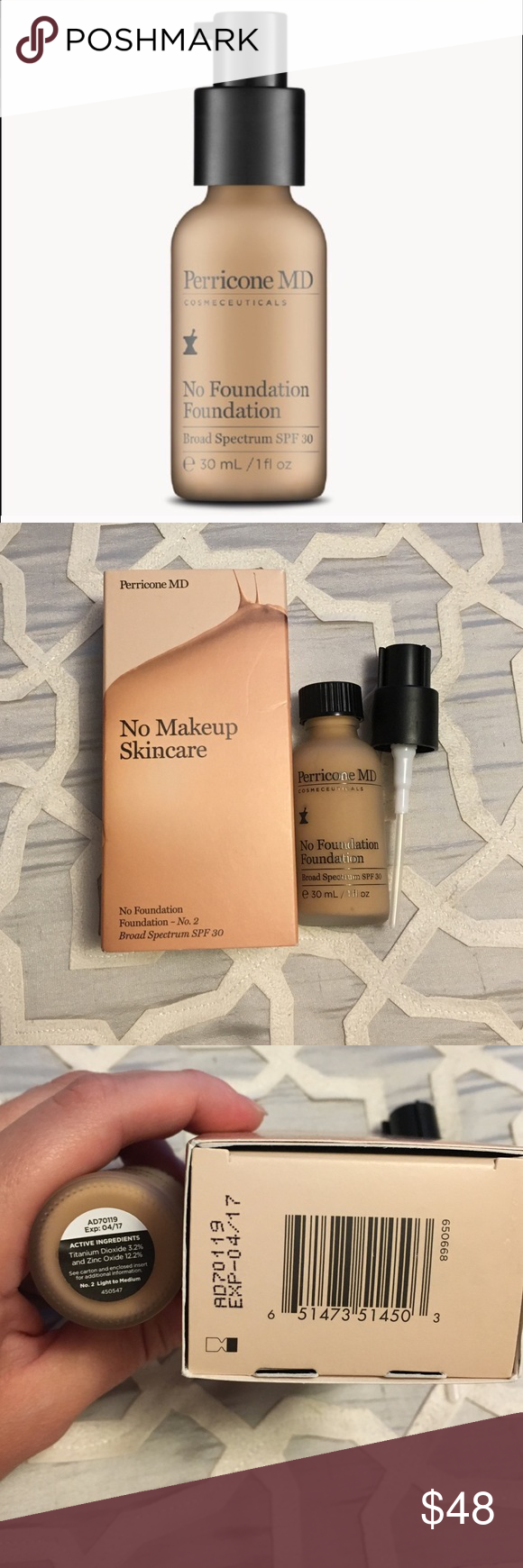 Perricone No Foundation Foundation No. 2 Currently SOLD