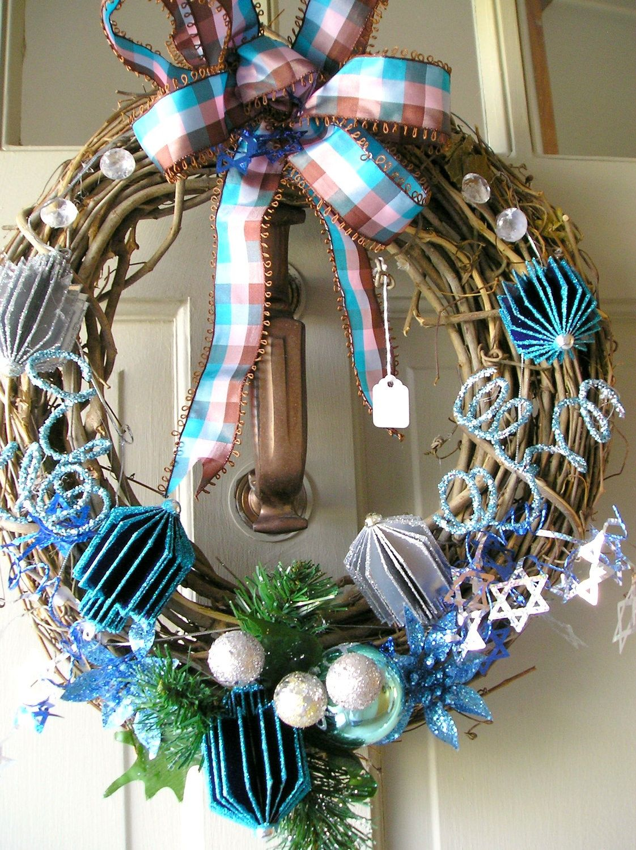 A Chanukah Wreath