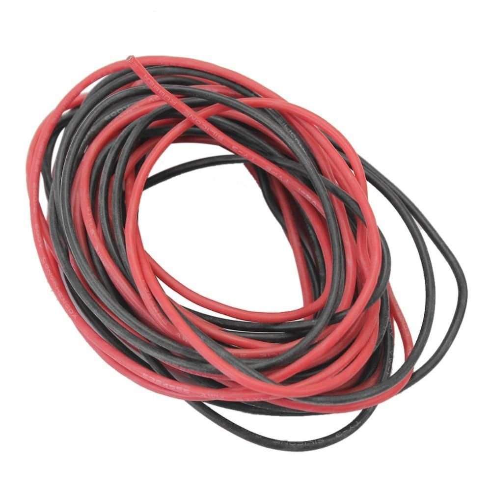 Allishop 12 Awg 12awg Flexible Silicone Wire Cable Soft High Temperature Tinned Copper Electrical Wires Copper Electrical Wire Silicone Cable