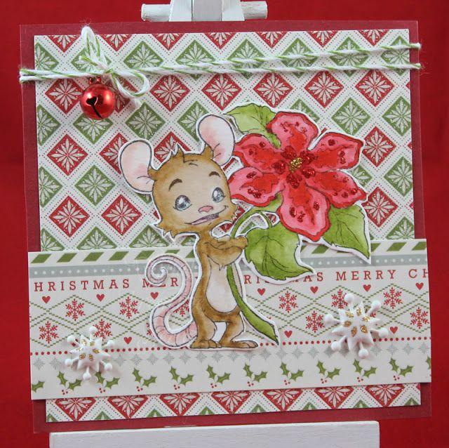 Tinas kreative Seite - Weihnachtssquare #9