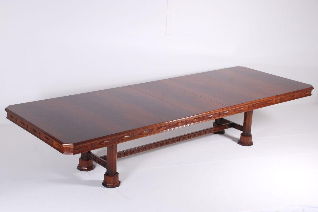 Bespoke Gothic Dining Table Www Rbc Furniture Co Uk