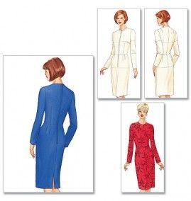 Butterick 5628 Women/'s Fitting Shell and Dress   Sewing Pattern
