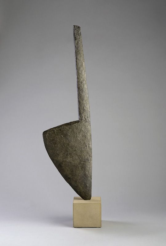 William Turnbull, Blade Venus Two, 1989. This is really cool. This is almost the project that we need to make for class. It is essentially the collision of two objects. Very cool!!