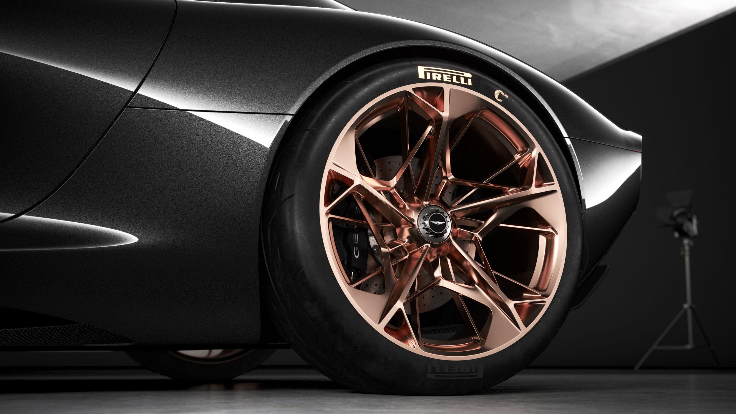 Genesis Essentia Concept 2018 Wheel Wheels Vossen