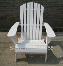 Muebles de jard n silla adirondack acabado blanco patio for Ocio muebles