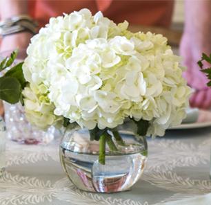 Spring Collection Simple Hydrangeas Flower Centerpieces Wedding Wedding Centerpieces