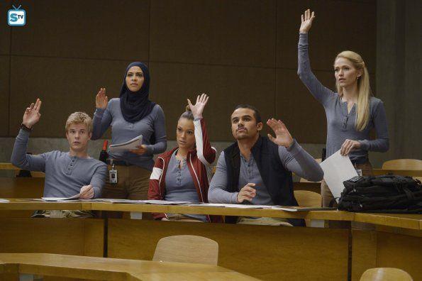 Quantico 1x09 Guilty Caleb Nimah Natalie Brandon And Shelby