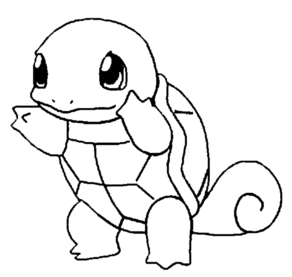 Pokemon Pikachu Coloring Page Squirtle Charmander Card Pages Prin