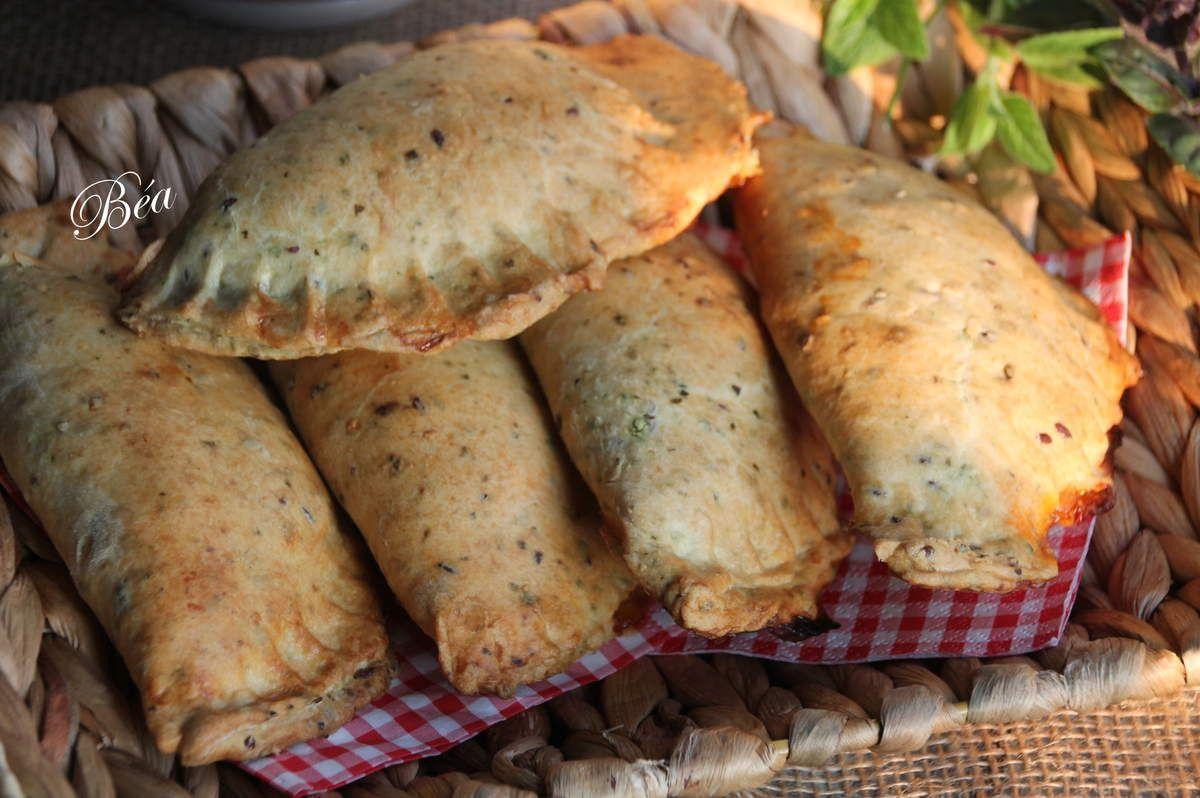 Empanadas à la riste daubergines et féta