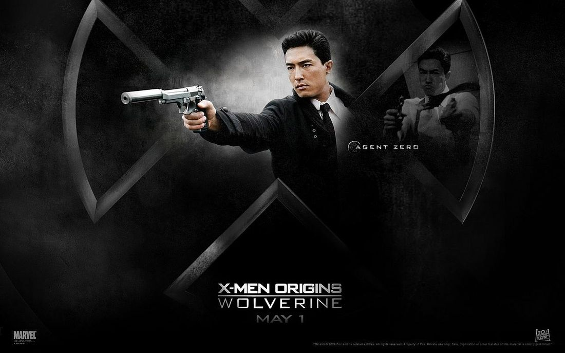 Daniel Henney As David North Agent Zero X Men Origins Wolverine X Men Daniel Henney Wolverine Movie