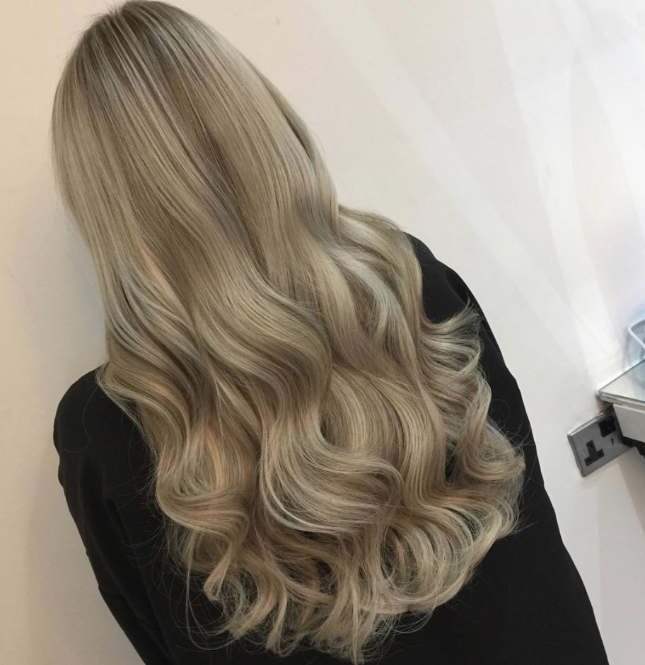 22 Inch Blonde Clip In Hair Extensions In Scandinavian Blonde Beauty