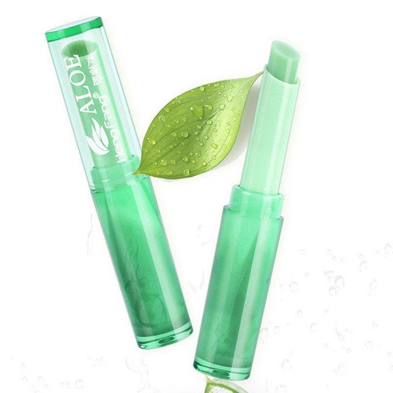 Photo of ALOE VERA Color Change Jelly Lipstick Natural Long Lasting Moisturizing Lip Make…