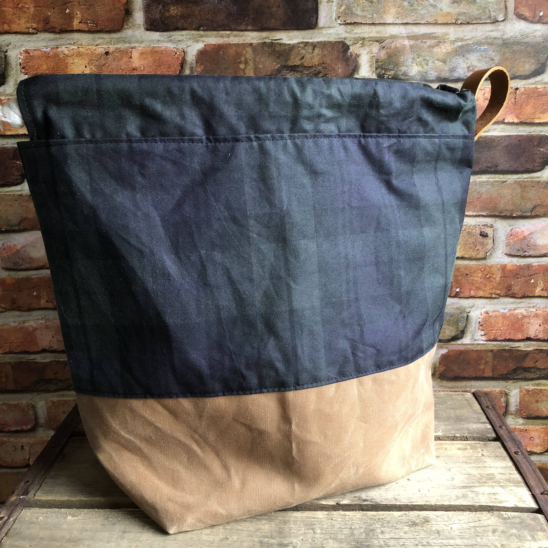 Tartan Project Bag