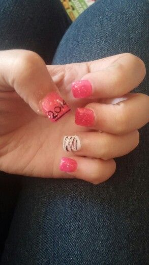 8th Grade Graduation Nails Love This But They Would Have To Be 2015 Graduation Nails Nails 8th Grade Graduation