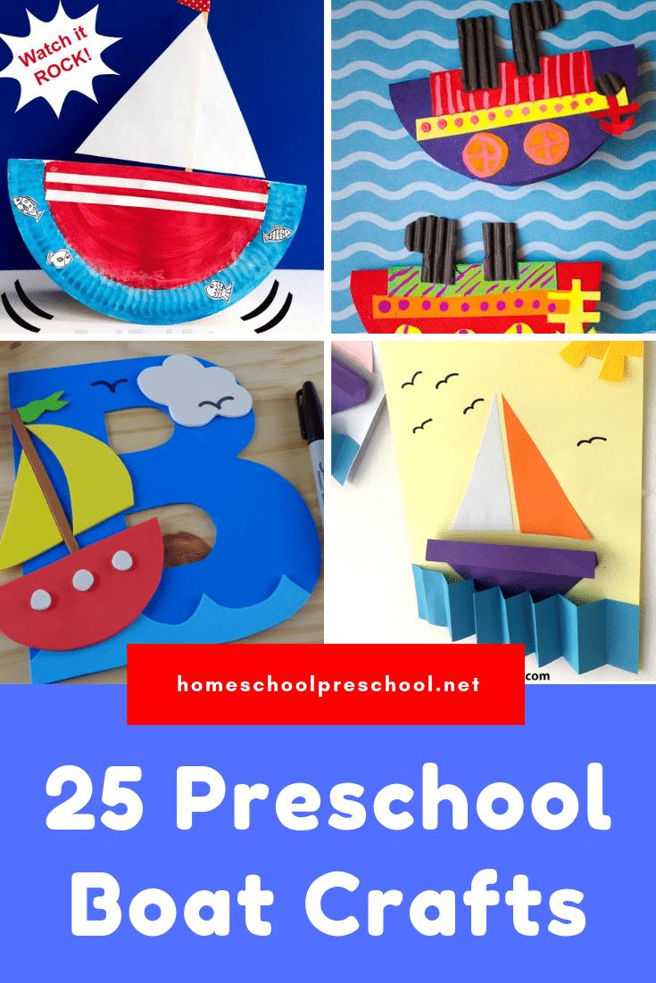 25 Hands On Preschool Boat Crafts And Activities Boat Crafts Transportation Crafts Preschool Art Activities [ 1102 x 735 Pixel ]