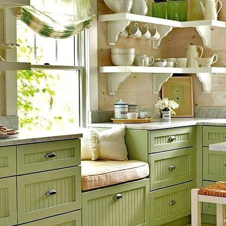 cucina country in verde | 18_HOME & DIY | Pinterest | Cucina and ...