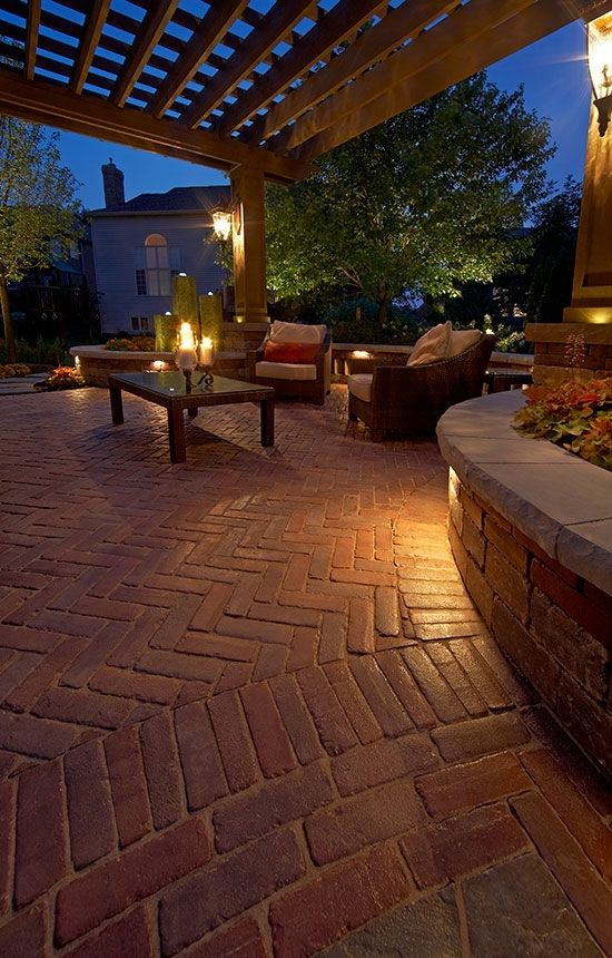 Red Pavers | PATIO & POOL LANDSCAPING IDEAS | Pinterest ... on Red Paver Patio Ideas id=12585