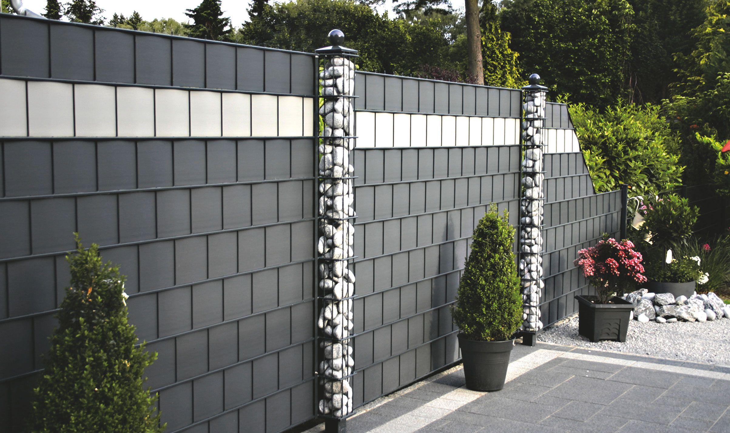 Zaun & Sichtschutz selber bauen Sichtschutzzaun garten