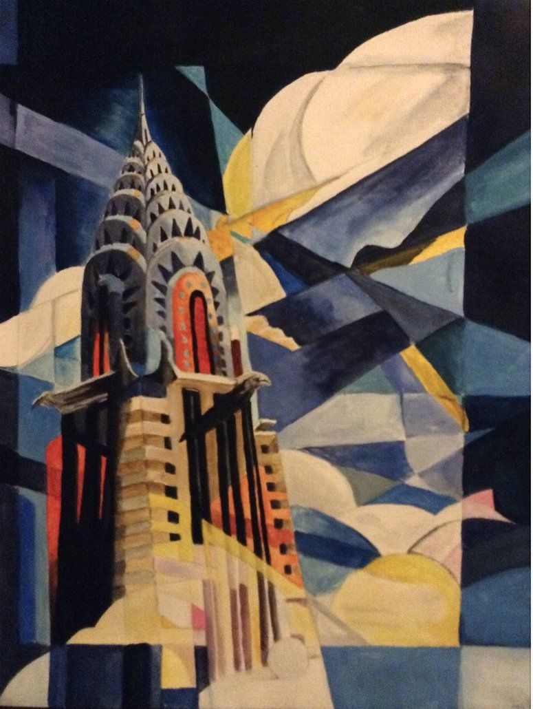 Chrysler Building White Collar By Discombobulated1895 With