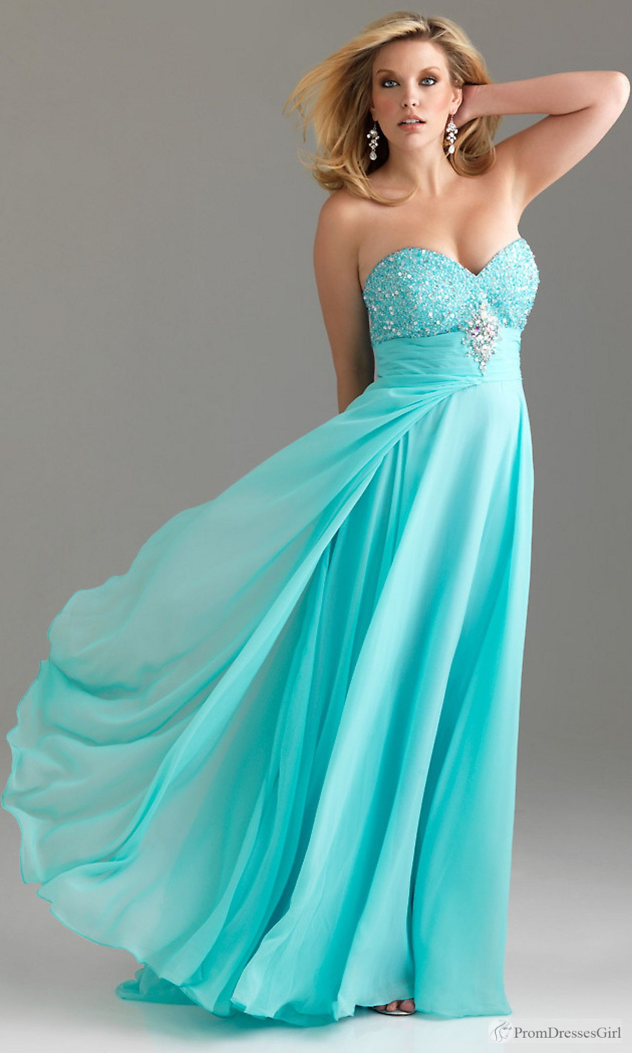 Plus Size Prom Dress | Plus size dresses | Pinterest | Prom, Clothes ...